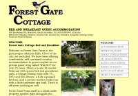 Forest Gate Cottages Romantic Retreat Bed and Breakfast Accommodation for Couples at Meadows in South Australia