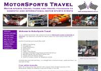 MotorSports Travel - your one-stop shop for motor sports travel packages