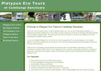 Platypus Eco Tours at Cumbungi Sanctuary at Mylor in the beautiful Adelaide Hills of South Australia